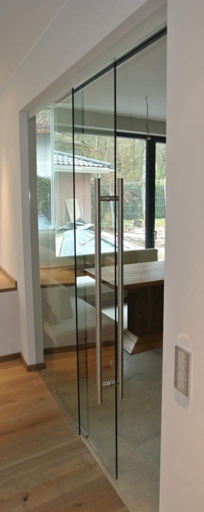 Dorma Agile 150 Glasschiebetür mit festem Seitenteil