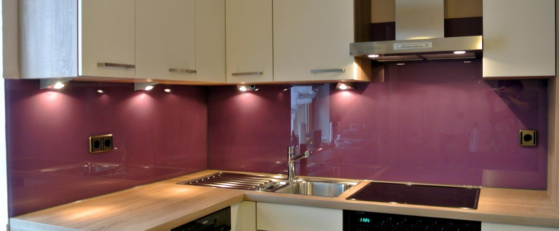Ral 4001 rotlila Küchenrückwand Farbe